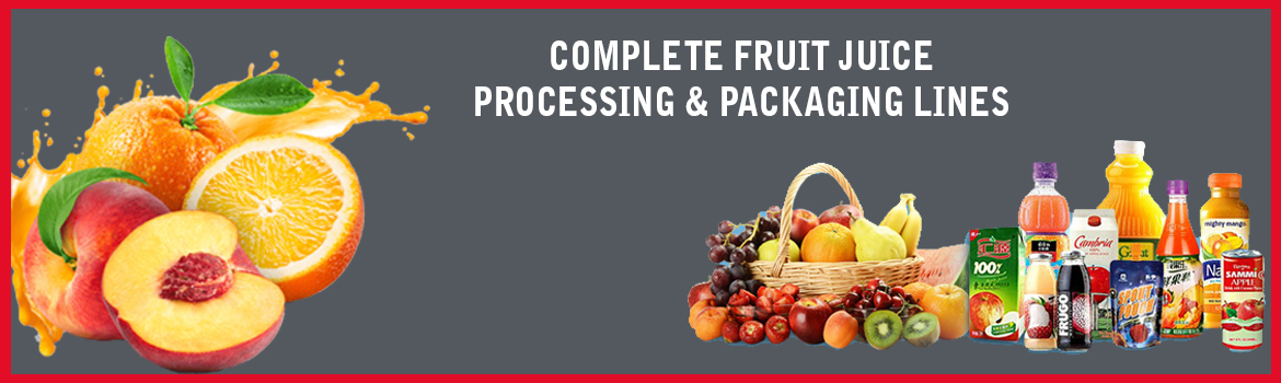 complete juice processing lines